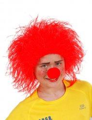 Rote Clownperücke Kind