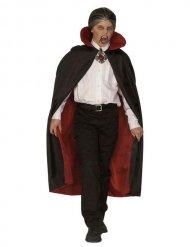 Vampir-Umhang für Kinder schwarz-rot