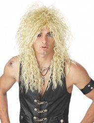 Rockstar Perücke 80er Jahre blond Erwachsene
