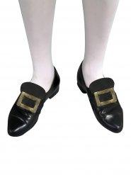 Goldene Schnalle für Schuhe