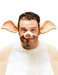 Stirnband Schweineohren Erwachsene