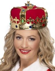 Krone -Königin mit falschen Juwelen Erwachsene