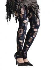 Zombie Strumpfhosen Damen Halloween