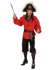 Bermuda schwarzer Pirat Herren