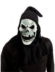 Skelett-Totenschädel-Maske Halloween-Zubehör schwarz-weiss