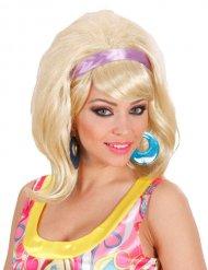 60er blonde Perücke