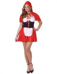Sexy Kostüm Rotkäppchen für Damen