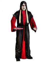 Killer-Skelett Halloween-Verkleidung Herrenkostüm schwarz-rot