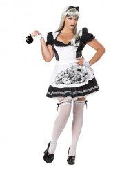Halloween-Kostüm böse Wunderlandprinzessin Plus Size Halloween