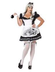 Halloween-Kostüm böse Wunderlanprinzessin Plus Size Halloween