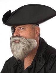 Bart Grau Piraten der Karibik Herren