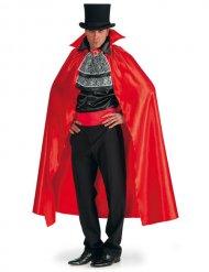 Vampir-Umhang mit Kragen Kostümzubehör Halloween rot