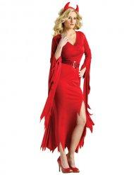Teufelin der Nacht Damenkostüm rot