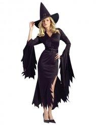 Halloween-Damen-Kostüm - Hexe - Schwarz