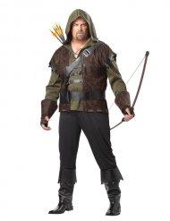 Mittelalter Krieger-Kostüm für Herren grün