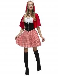 Rotkäppchen Kostüm sexy für Damen