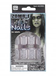 Zombie falsche Nägel Erwachsene Halloween