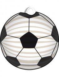 Laterne weiß-schwarz Fußball
