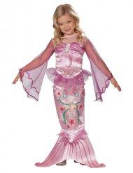 Kostüm Meerjungfrau rosa für Mädchen