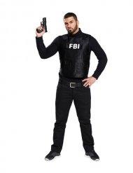 FBI-Weste Uniform Kostümzubehör Polizist schwarz-weiss