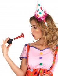 Mini Clownhut Stirnband Erwachsene