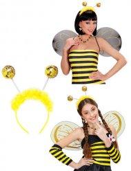 Stirnband-Fühler Biene mit Fell Erwachsene