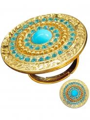 Türkiser ägyptischer Ring