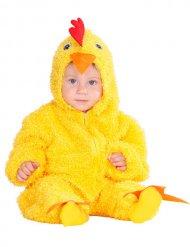 Küken Kostüm für Babys gelb