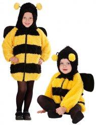 Bienenkostüm aus Plüsch für Babys.