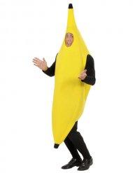 Humorvolles Bananen-Kostüm gelb-schwarz