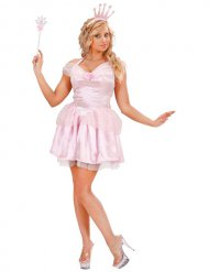 Kostüm Feenkönigin rosa Damen