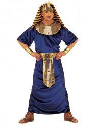 Kostüm blau und gold ägyptischer Pharao Herren