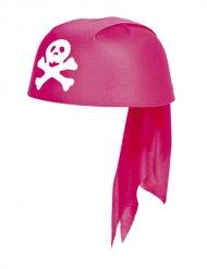 Halstuch Mädchen Pirat rosa