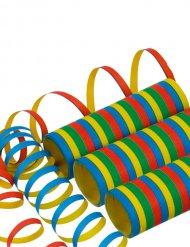 Luftschlangen mehrfarbig 400 x 0.7cm