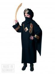 Tuareg Wüstenbewohner Kostüm für Kinder schwarz-rot-gold