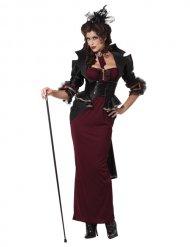 Gothic Halloween Vampirkostüm für Damen