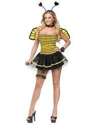 Bienen Kostüm schwarz und gelb