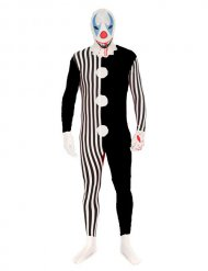 Killer Clown Morphsuits™ für Erwachsene Halloween