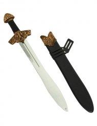 Wikingerschwert 60 cm mit Etui