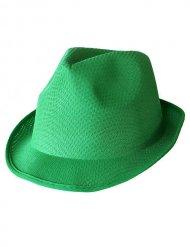Grüner Borsalino Hut für Erwachsene Trilby