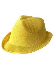 Gelber Borsalino Hut Trilby für Erwachsene
