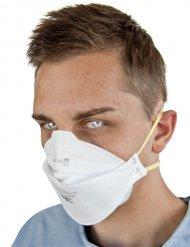 Mundschutz Maske Chirurg für Erwachsene weiß