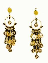Orientalische Ohrringe in gold für Erwachsene