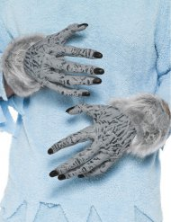 Werwolf Hände grau Erwachsene Halloween