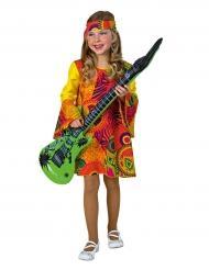 Kostüm Hippie rot für Mädchen