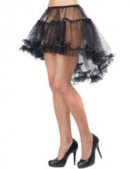 Eleganter Burlesque-Petticoat Unterrock für Damen schwarz