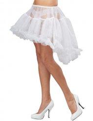 Petticoat für Damen Kostümzubehör Burlesque weiss