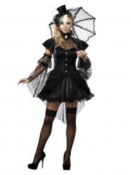 Gothic-Puppe Halloween Damen-Kostüm