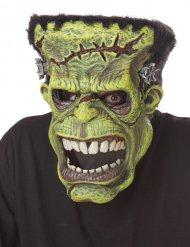Monster-Maske Filmstar für Halloween animiert grün