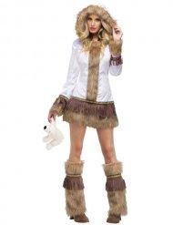 Sexy Eskimo Kostüm Damen